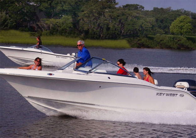 On Plane - KW 21' Rental Boat