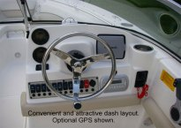 Helm - KW 21' Rental Boat
