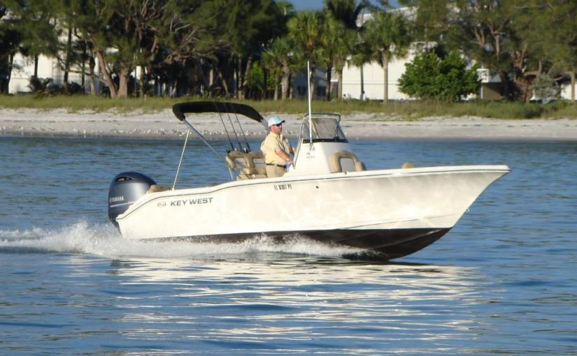 21′ Center Console Boat Rental ~ Key West 219 FS Center