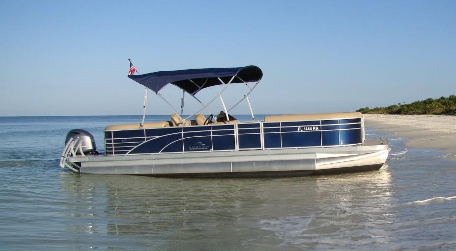 25 Pontoon Boat Rental Park Shore Marina