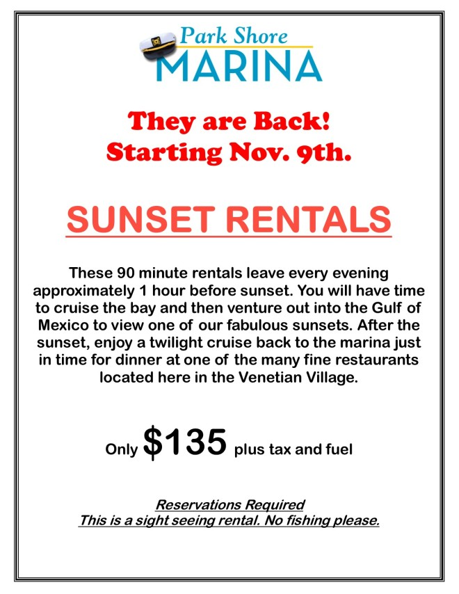 2020 Sunset Rentals